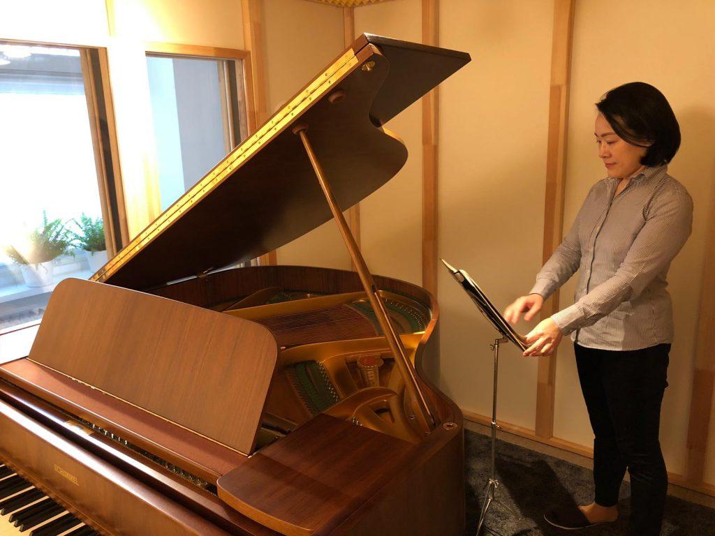 Der Schimmelflügel und ich im Studio